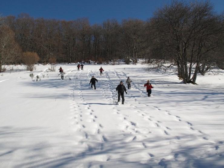 Ski et raquettes dans le Cantal