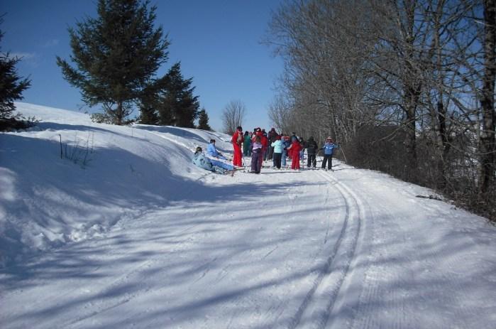 Vacances d'hiver dans le Cantal