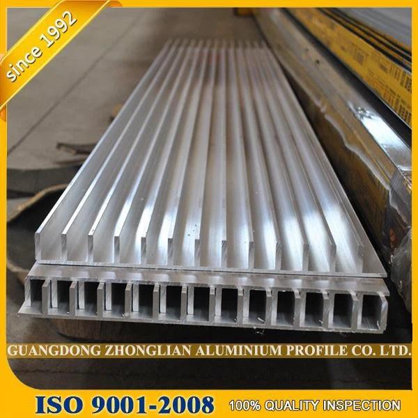 extruded aluminum heatsink LED alloy a6063 t5 extrusion