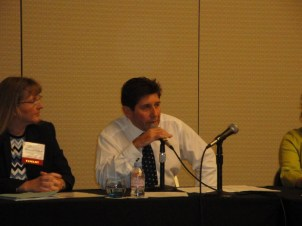 Discussion Pane, Gary Burke and Laura May Carmack