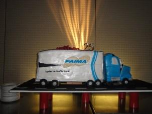 PAIMA Truck Cake