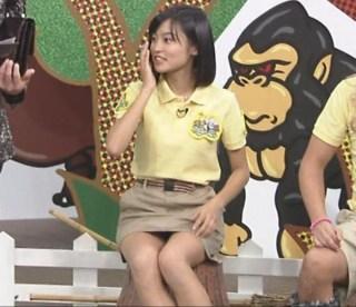小島瑠璃子パンチラ放送事故エロお宝画像