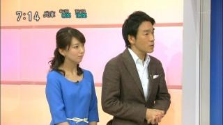 和久田麻由子アナ乳首の突起が胸ポチの放送事故エロお宝画像wakuta1