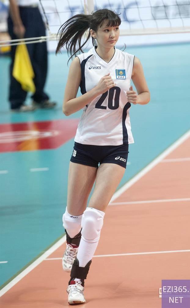 サビーナ・カザフスタン美しすぎるバレー選手のエロお宝画像