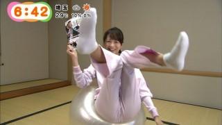 高見侑里アナおまんこマンスジ放送事故エロお宝画像