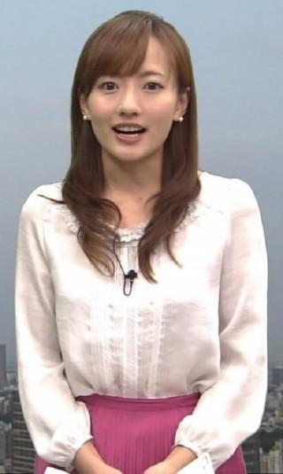 島本真衣アナおっぱいの谷間胸チラリ放送事故エロお宝画像