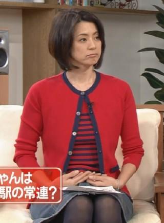 進藤晶子パンチラ放送事故エロお宝画像