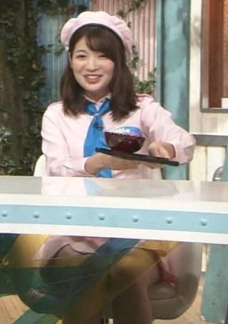 佐藤真知子アナパンチラ放送事故エロお宝画像