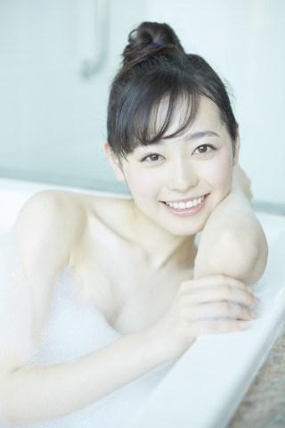 福原遥泡風呂ヌードエロ画像