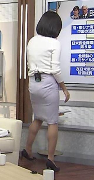 阿部優貴子お尻パン線エロお宝画像