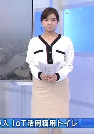 角谷暁子 タイトスカート尻・横乳エロお宝画像