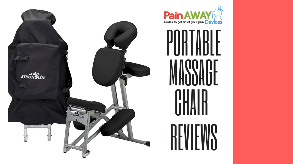chair gym reviews navy wingback slipcover portable massage pain away devices features a lightweight foldable tattoo spa with wheels only