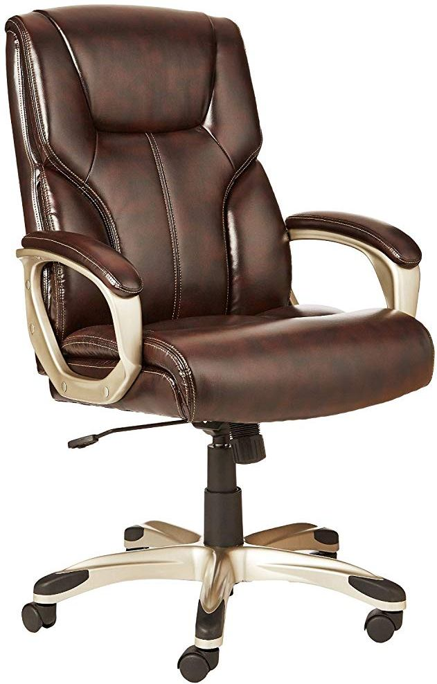 best office chair for back pain dining covers christmas chairs and neck reviews buyer s guide amazonbasics high executive