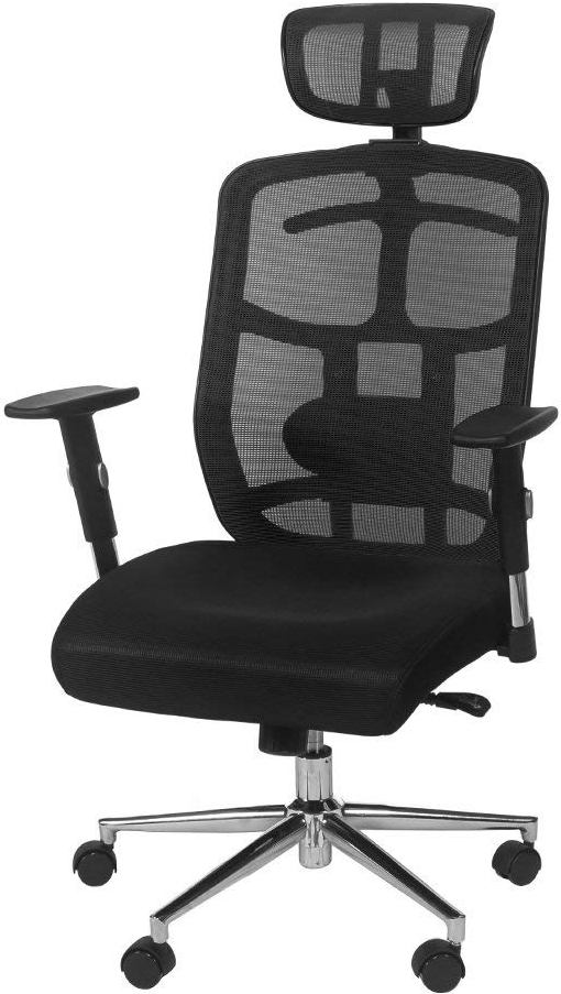 best office chair for back pain booster age chairs and neck reviews buyer s guide topsky mesh computer with headrest