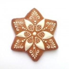 Etoile blanche simple 7 cm - N°1