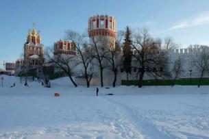 Novodevichy in inverno