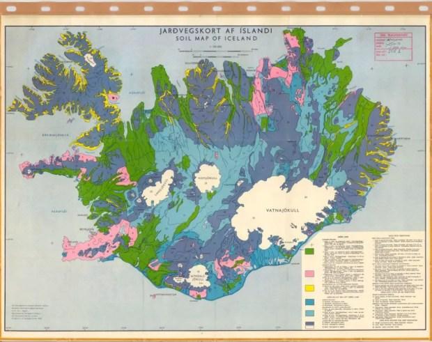 Soil-map-of-Iceland