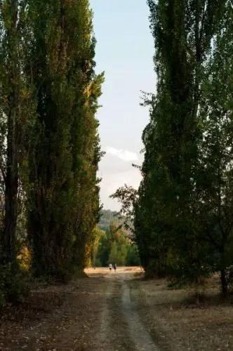 fiume reno talon bologna via degli dei