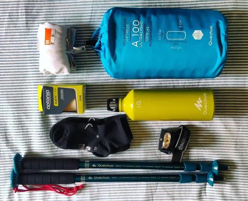 scarpe di separazione 5772f f9b52 Come fare lo zaino leggero per viaggi con trekking e free ...