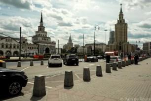 Erasmus a Mosca Leningradsky Vokzal