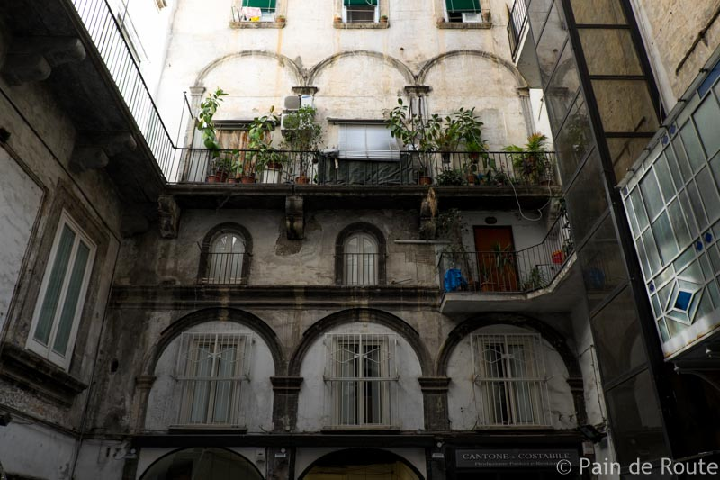 Napoli da sola in due giorni