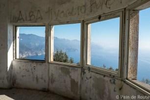 Vista sulle Cinque Terre dal Semaforo militare