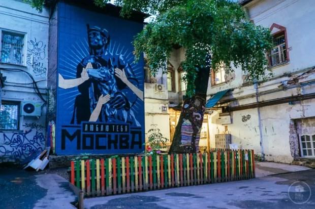 Street Art Kitai Gorod Mosca