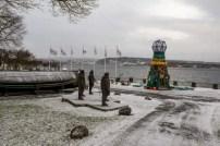 Un faro fatto di rifiuti del mare a Bygdoy