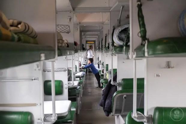 Il treno notturno Baku - Tbilisi