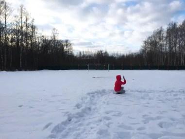Tutti in campo. Un'italiana nei campi invernali per bambini in Russia