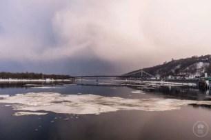 Il fiume Dniestr a Kiev