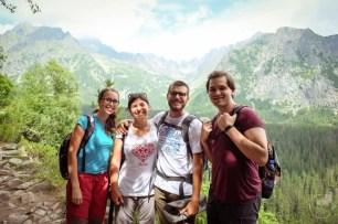 Mima, io, Sherpa e Jozef sui Monti Tatry