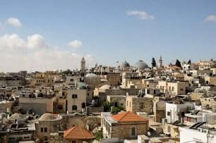 La città vecchia vista dalle mura