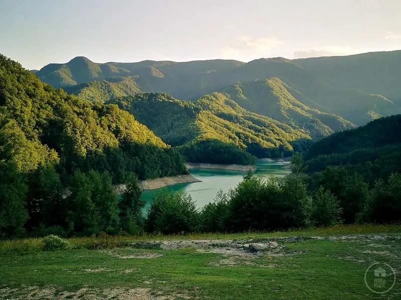 trekking al lago di ridracoli