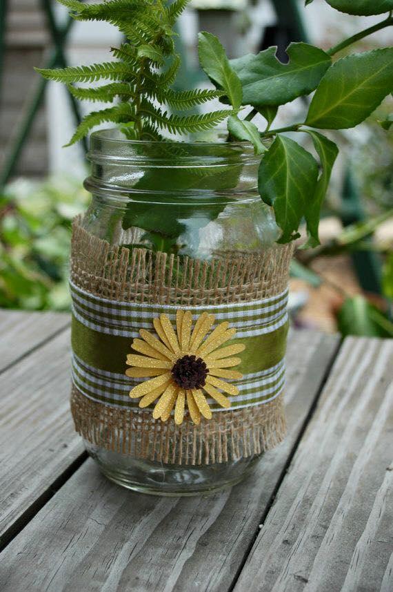10 Ideias para Reciclar Potinhos de Vidros  Painel Criativo