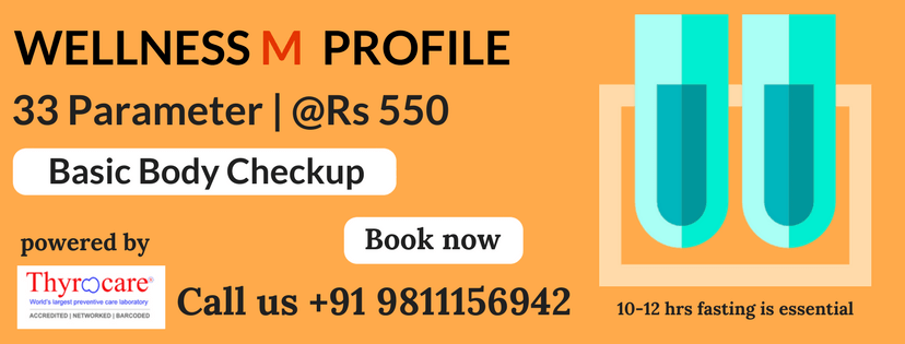 wellness m profile test service at home in delhi l wellness m profile test service at home in Delhi-ncr