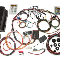 Cx Lighting Control Panel Wiring Diagram 1998 Ford Ranger Headlight 28 Circuit Direct Fit 1966 77 Bronco Harness W Switches Painless By Performance