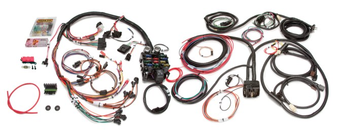21 circuit direct fit jeep cj harness  painless performance