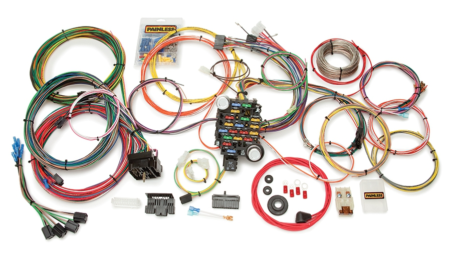 Amc Wiring Harness Diagram 27 Circuit Classic Plus Customizable 1973 87 Gm C10 Pickup