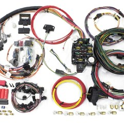1968 Chevelle Wiring Diagram 12v Led Spot Light 26 Circuit Direct Fit 1969 Malibu Harness Painless By Performance