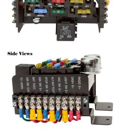 universal style pre wired 14 circuit fuse block painless performance 2002 kia spectra fuse box diagram [ 900 x 2062 Pixel ]