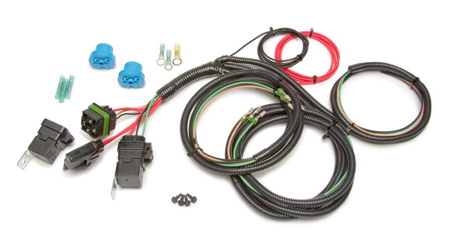 2002 mustang headlight wiring diagram 1997 dodge dakota radio h 4 relay conversion harness painless performance 9004 9007