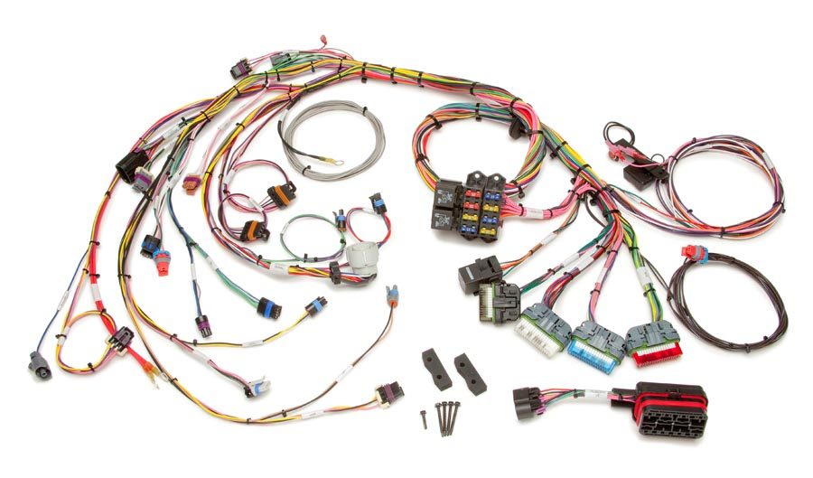gm truck central wiring diagrams goodman heat pump air handler diagram 1996 99 vortec 4 3l v6 cmfi harness std length painless 5 0 7l v8 extra