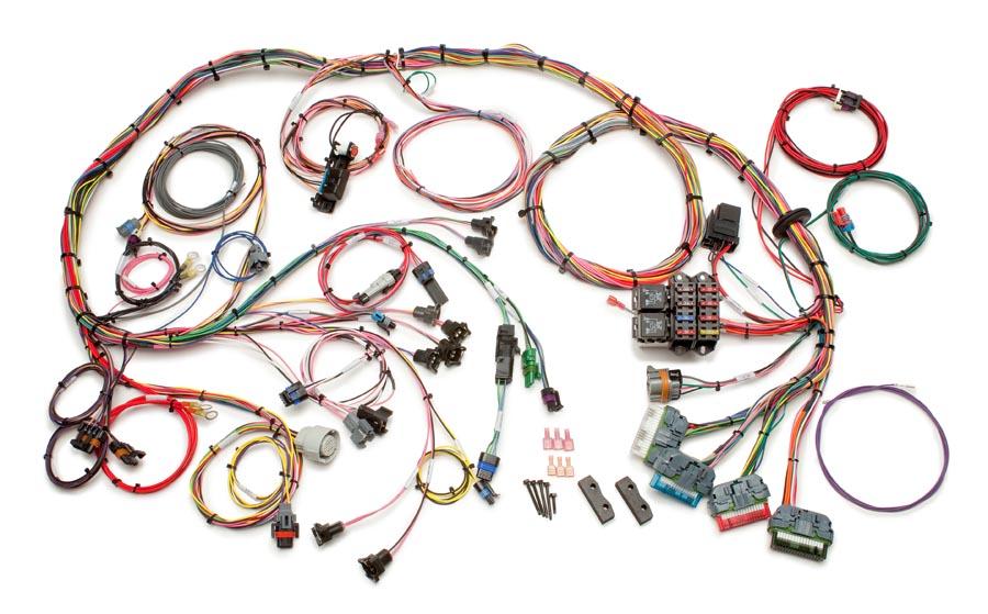 painless wiring diagram lt1 led strip 12v 1992 97 gm harness std length performance extra