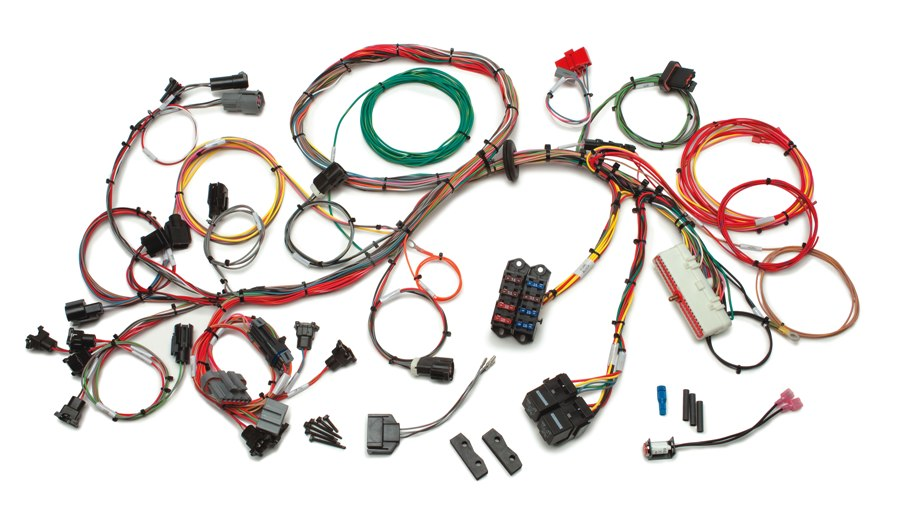 early bronco wiring diagram for solar panels on a caravan ford 1986 1995 5 0l fuel injection harness std length x