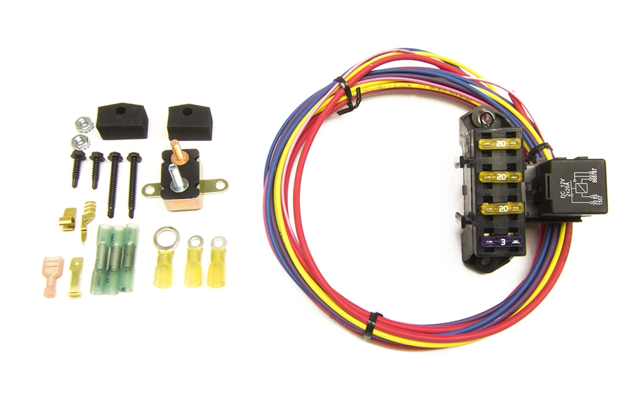 Wiring Harness Ford Together With Painless Wiring 70217 Fuse Block
