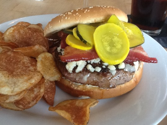 Toup's Meatery Burger