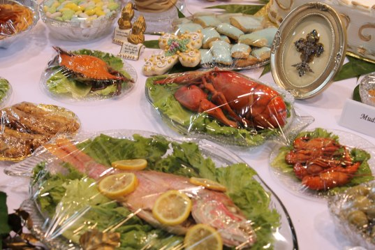 Seafood at St. Joseph's Table