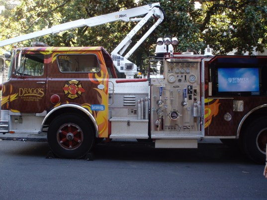 Drago's Hook and Ladder Grill Truck