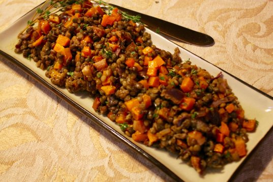 warm-lentil-salad-with-brown-butter-vinaigrette